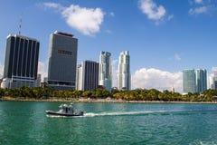 Miami coast Royalty Free Stock Photography