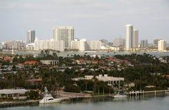 Miami Coast Line Stock Photo