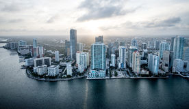 Miami coastline Stock Photography