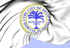 Miami Coat of Arms, USA. Royalty Free Stock Image