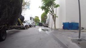 Miami construction stock video