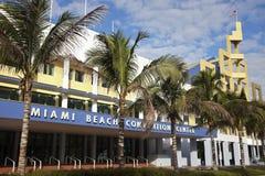 Miami Covention Plażowy centrum Fotografia Royalty Free