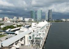 Miami Cruise Ship Terminal Stock Photos