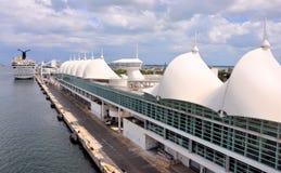 Miami Cruise Terminal. Image of the Miami Cruise Terminal Stock Photos