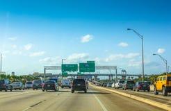 Miami d'un état à un autre la Floride Image stock
