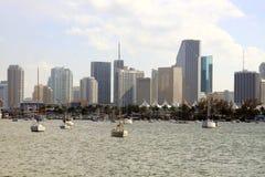Miami da baixa Fotos de Stock Royalty Free