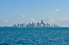 Miami da baixa Fotografia de Stock