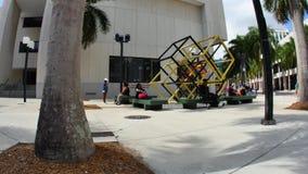 Miami Dade Community College 4k video stock video