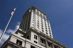 Miami-Dade Courthouse. Miami Dade County Courthouse.  Historic landmark government building Stock Photography