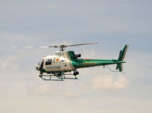 Miami Dade Police Department helicopter Royalty Free Stock Photo