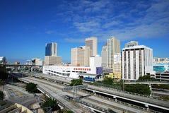 Miami-Datenbahn stockbilder