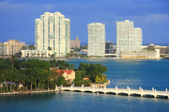 Miami day,Florida Royalty Free Stock Image