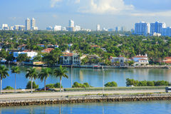 Miami day,Florida Royalty Free Stock Images