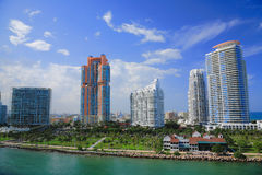Miami day,Florida Royalty Free Stock Image