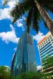 Miami de stad in Royalty-vrije Stock Fotografie