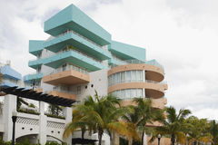 Miami Deco architecture Royalty Free Stock Images