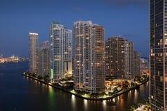 Miami del centro immagine stock