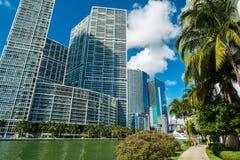 Miami del centro fotografia stock libera da diritti