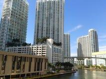 Miami del centro Fotografie Stock Libere da Diritti