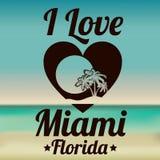 Miami-Design Stockfotografie