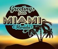 Miami-Design Stockbild