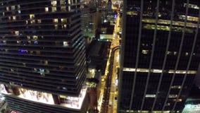 Miami do centro na noite