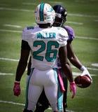 Miami Dolphins Lamar Miller Fotografía de archivo
