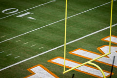 Miami Dolphins Sun Life Stadium End Zone with Goal Post Royalty Free Stock Photography