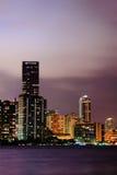 Miami downtown stock photos