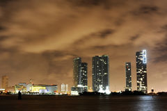 Miami downtown Royalty Free Stock Images