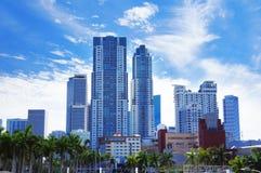 Miami Downtown skyline view Stock Photography