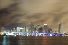 Miami downtown Stock Photography