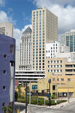 Miami Downtown Streets Stock Photography