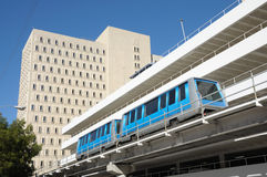 Miami downtown train system Stock Photo