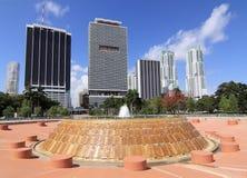 Miami du centre - 3 photos libres de droits