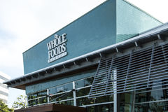 MIAMI DU NORD, FL, Etats-Unis - 17 juin 2017 : Supermarché du marché de Whole Foods photo libre de droits