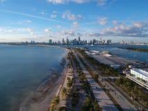 Miami eftermiddag arkivfoto