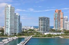 Miami em Florida Imagem de Stock Royalty Free