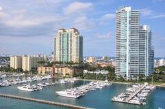 Miami en la Florida Foto de archivo