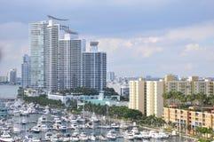 Miami en la Florida Imágenes de archivo libres de regalías