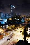 Miami en la noche Fotos de archivo