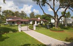 Miami, Etats-Unis, beau sociable en Coral Gables photos libres de droits