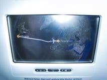 Miami, Etats-Unis - 12 mai 2018 : Intérieur d'Airbus 380-800 avant le vol image stock
