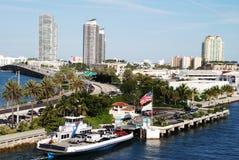 Miami Ferry Royalty Free Stock Photo