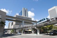 Miami First Avenue Stock Photo
