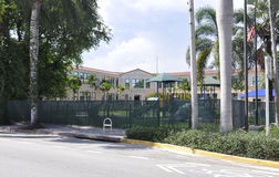 Miami FL,August 09th: Elementary School Building from Miami in Florida USA Royalty Free Stock Photography