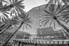 MIAMI, FL - MARCH 31, 2018: Modern buildings in Downtown. Miami stock photography