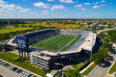 Aerial image Riccardo Silva Stadium Miami FIU royalty free stock photos
