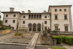 MIAMI, FLORIDA - APRIL 29, 2015: Vizcaya Museum Garden. Villa Mansion Vizcaya. royalty free stock photography