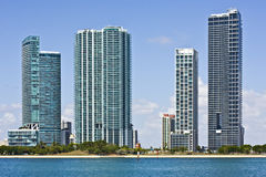 Miami Florida architecture Stock Images